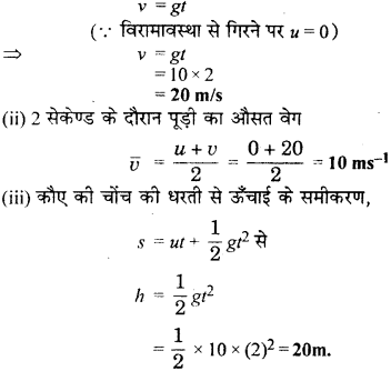 RBSE Solutions for Class 9 Science Chapter 10 Gravity 4