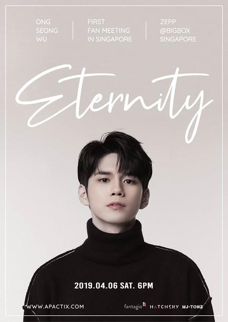 Ong Seong Wu Eternity in SG