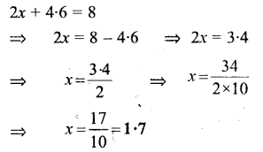 Selina Concise Mathematics Class 6 ICSE Solutions - Simple (Linear) Equations (Including Word Problems) - c14s