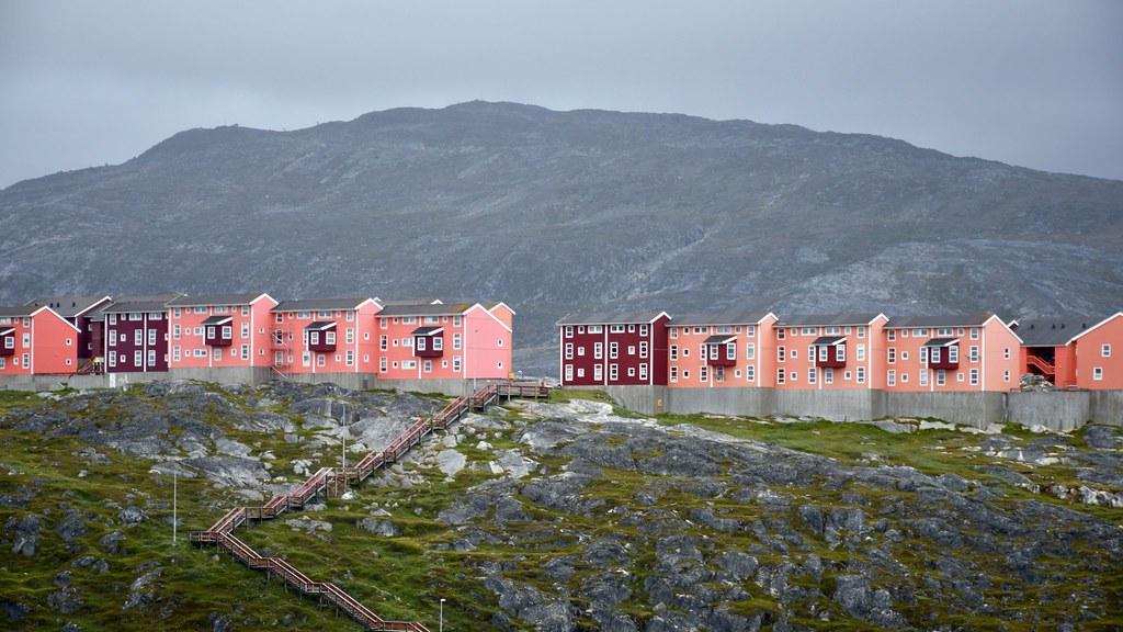 Le Groenland urbain, sur trois échelles