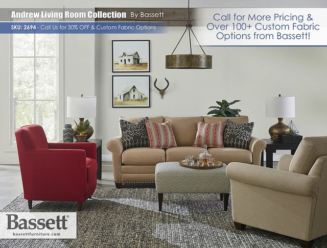Andrew Living Room Collection by Bassett_2694-62B-Andrew-FA18