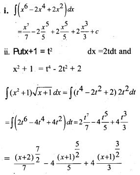 Plus Two Maths Chapter Wise Questions and Answers Chapter 7 Integrals 80