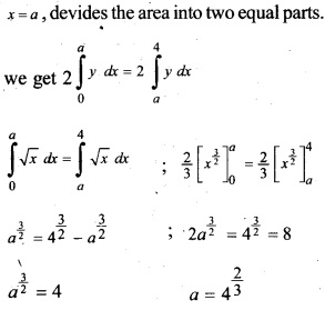 Plus Two Maths Chapter Wise Questions and Answers Chapter 8 Application of Integrals 33