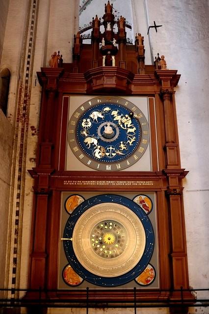 Reloj astronómico de Lubeck