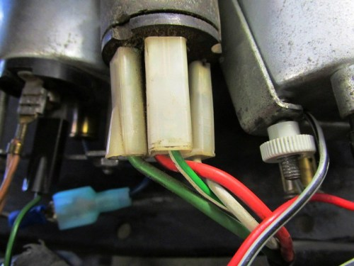 Ignition Switch Wires