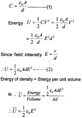Plus Two Physics Chapter Wise Questions and Answers Chapter 2 Electric Potential and Capacitance 14