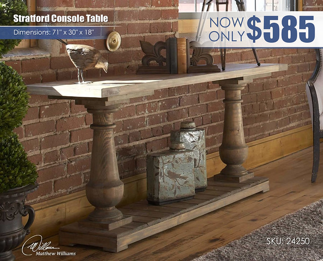 Stratford Console Table_24250