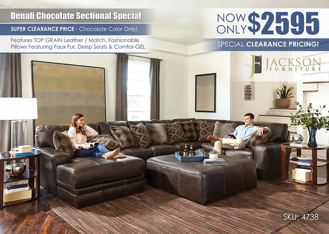 Denali Chocolate Sectional_Clearance_4738