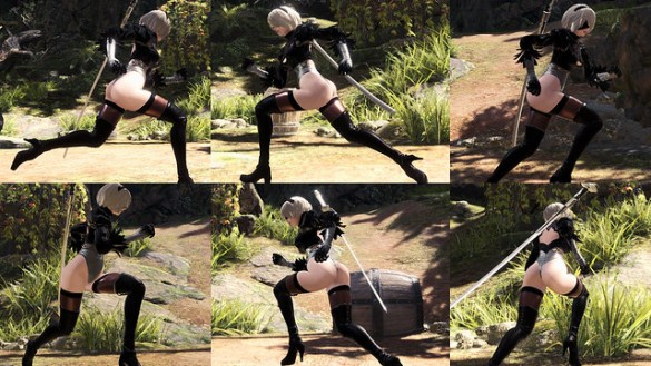 Monster Hunter World - 2B's Beautiful Booty