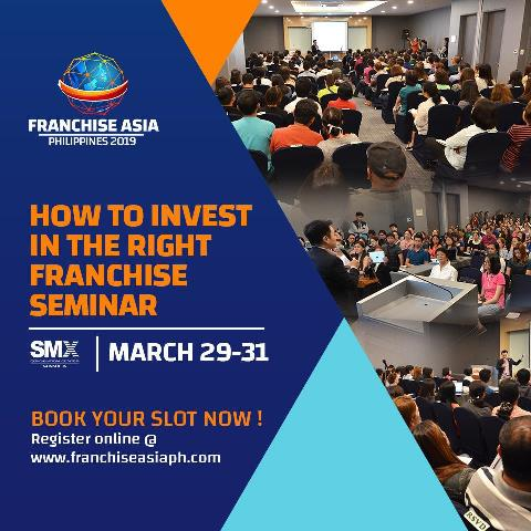 Franchise Asia Philippines 2019 - Invest in Franchise