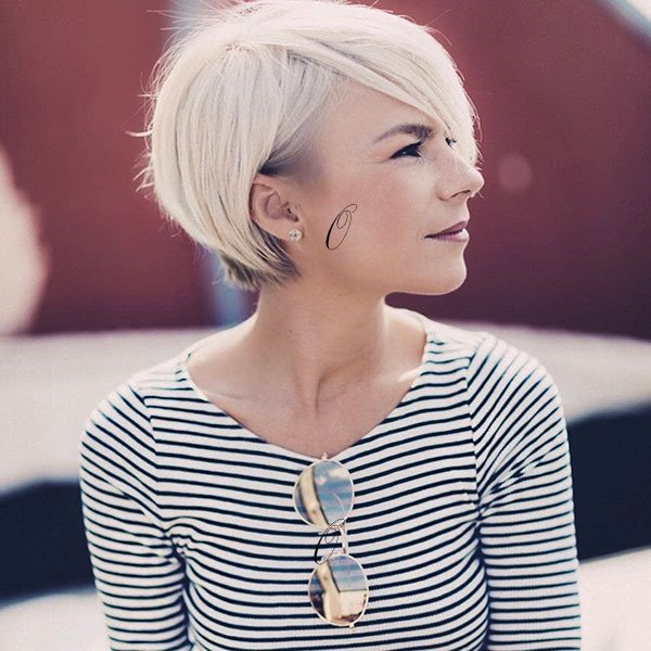 Cute pixie cut 2019
