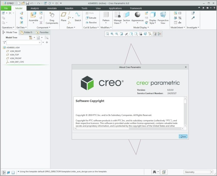 Design with PTC Creo 6.0.0.0 full