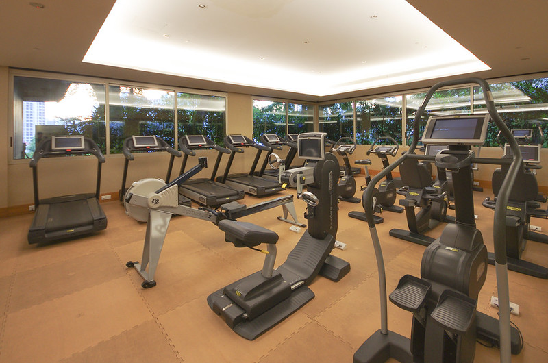 fitness centre at hotel fort canning