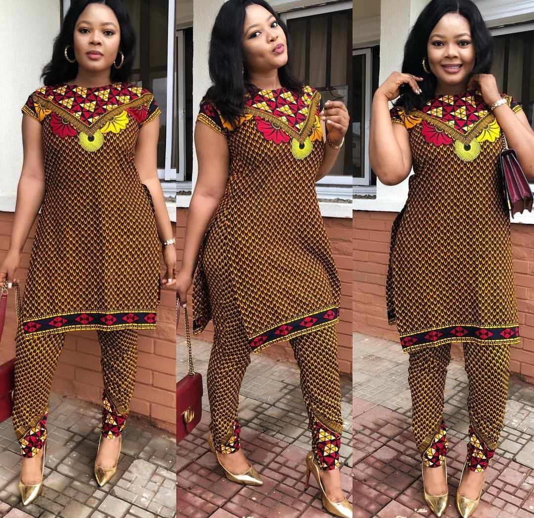 LATEST ANKARA STYLE 2019 FOR WOMAN FOR EVERY OCCASION! 1