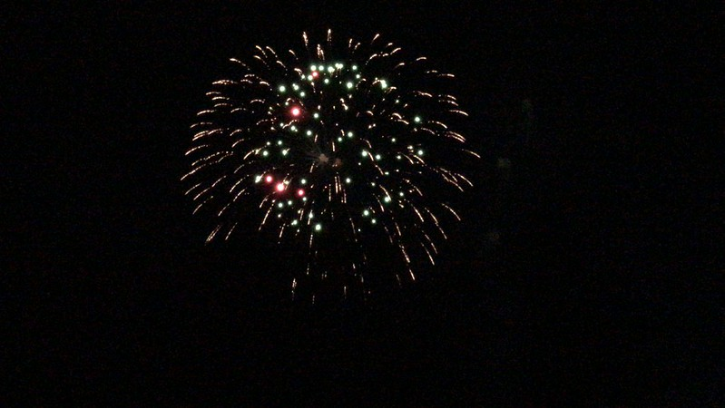 Fireworks at Twin Bridges Park