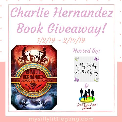 Charlie Hernandez Book Giveaway