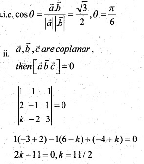 Plus Two Maths Chapter Wise Questions and Answers Chapter 10 Vector Algebra 46
