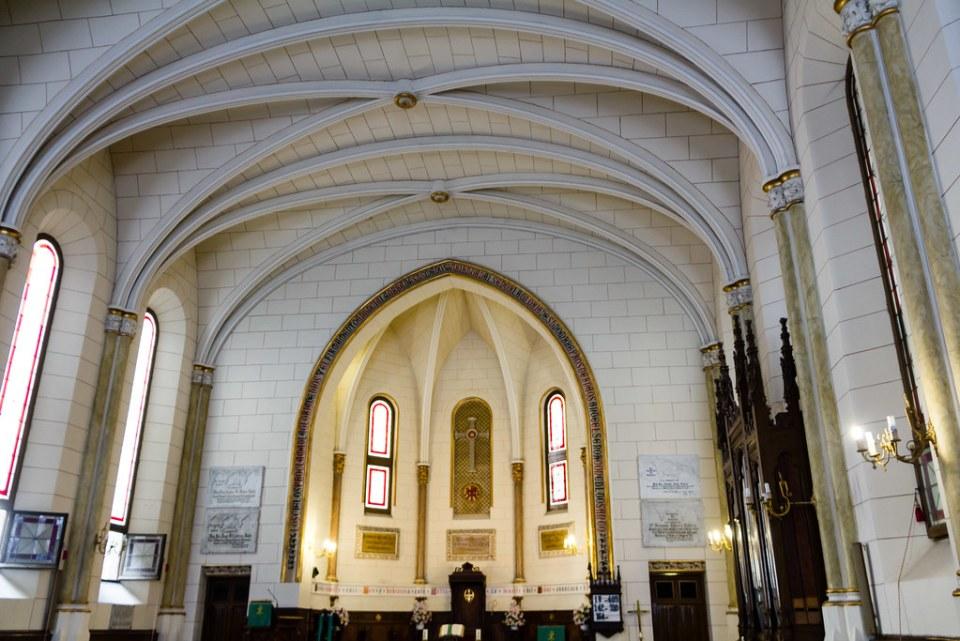 interior Catedral del Redentor Madrid