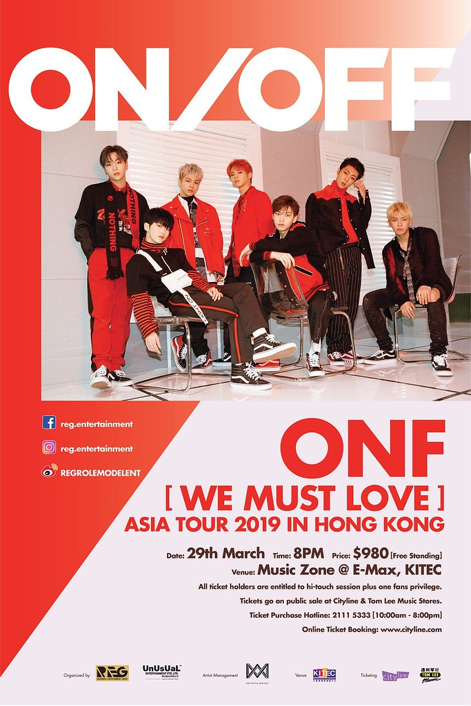 ONF WE MUST LOVE IN HK