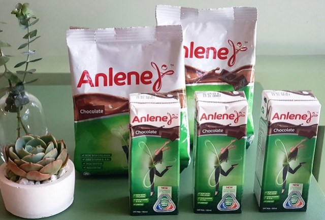 Anlene Chocolate Powdered Drink with Collagen