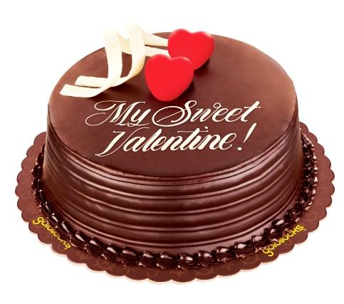 Goldilocks Valentine's Classic Chocolate Delight Cake