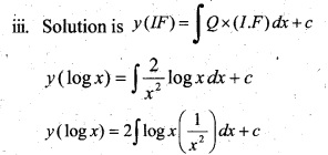 Plus Two Maths Chapter Wise Questions and Answers Chapter 9 Differential Equations 82