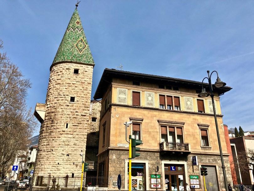 Itinerario di Trento - Torre Verde