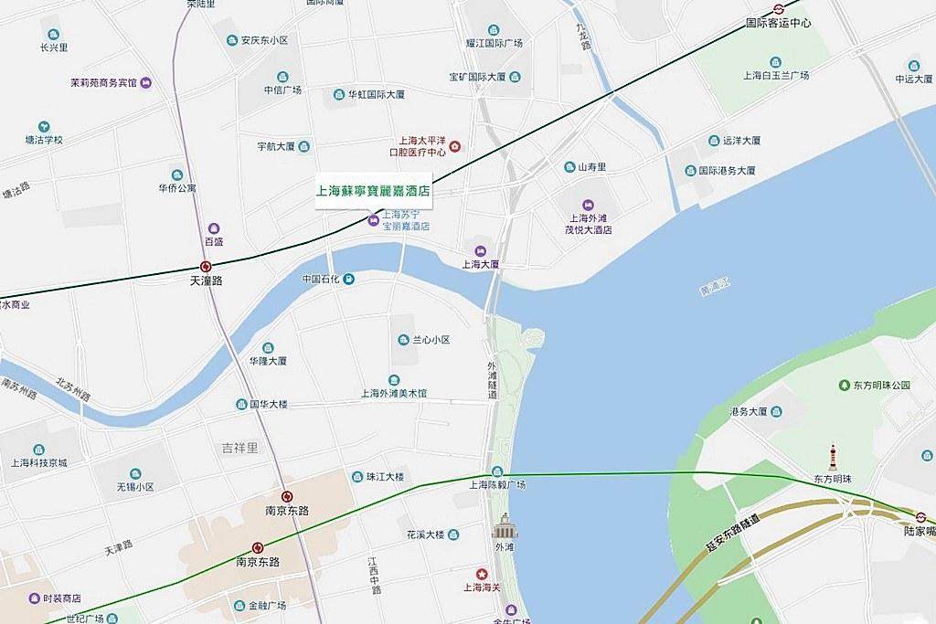 Bellagio Shanghai Map