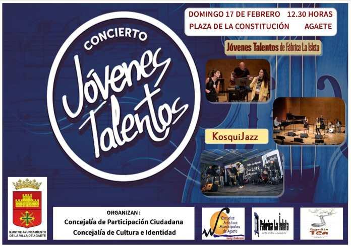 Agaete celebra el 'Concierto Jóvenes Talentos'