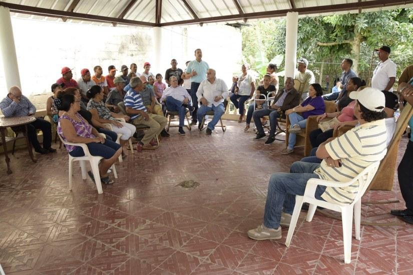 Residencia Juan Miguel Brache. La penda, Cayetano Germosen. Moca