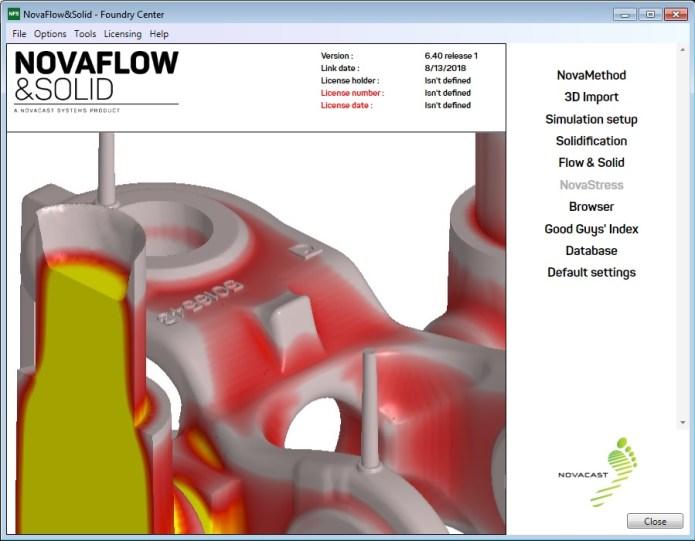 NovaFlow&Solid CAST 6.4r1 x64 full license