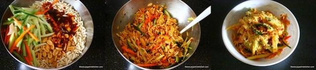 thai style bhel poori