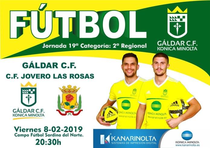 El Gáldar CF Konica Minolta se enfrenta a Las Rosas este viernes en Sardina