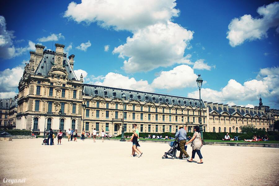 2016.8.28 | 看我的歐行腿| 法國巴黎凱旋門、香榭麗舍間的歷史之道 13