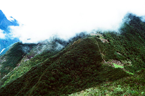 Moutains near Choquequirao