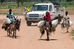 Ethiopian troops in Gereida (South Darfur)