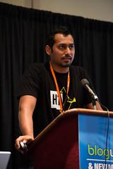 Syed Balkhi Speaking at BlogWorld NYC 2012