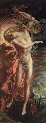 """Jean Delville (Belgian, 1867-1953), """"Orph..."""
