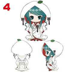 "Strawberry Daifuku White Kimono Miku • <a style=""font-size:0.8em;"" href=""http://www.flickr.com/photos/66379360@N02/7460033682/"" target=""_blank"">View on Flickr</a>"