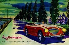 Austin Healey 100 Le Mans 1955