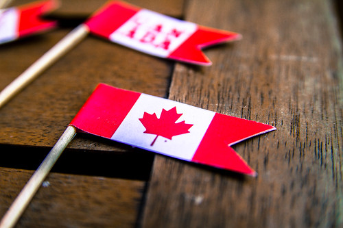DIY Canadian Cupcake Flags for Canada Da by andreasivarsson, on Flickr