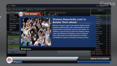 Team Bolster News Flash - FIFA 13 Career Mode