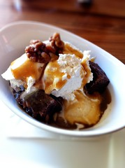 Chocolate Brownie Sundae @ Scratch