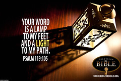 "Psalm 119:105 ""Your Word is a Lamp to my ..."