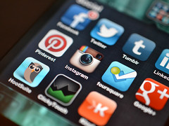 Instagram and other Social Media Apps by Jason A. Howie, on Flickr