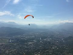 Grenoble depuis le Fort du Saint Eynard