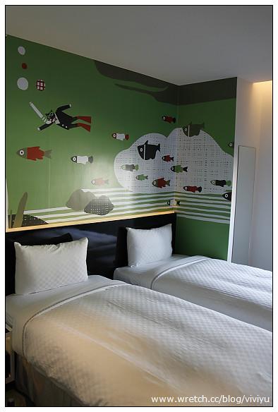 [約訪.台中]新驛旅店~彩繪設計樓層&早餐 @VIVIYU小世界