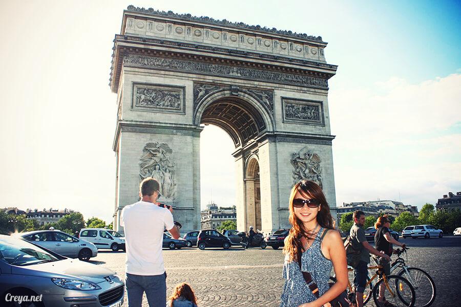 2016.8.28 | 看我的歐行腿| 法國巴黎凱旋門、香榭麗舍間的歷史之道 01