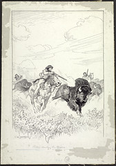 Métis Hunting the Bison / Métis chassant le bison