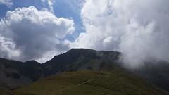 Urcușul spre vârful Cârja